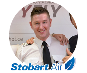 Quality Fly Graduate flying for Stobart Air
