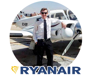 Quality Fly Graduate flying for Ryanair