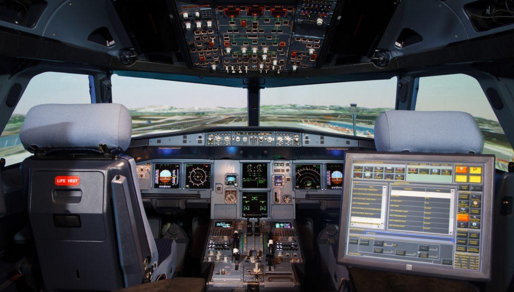 GTA-A320-FSTD-Simulator