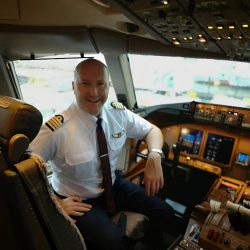 John Wood, B777 Captain China Airlines